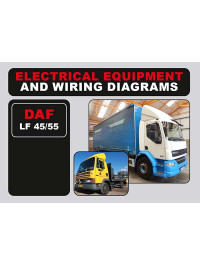 DAF LF 45 / LF 55, wiring diagrams