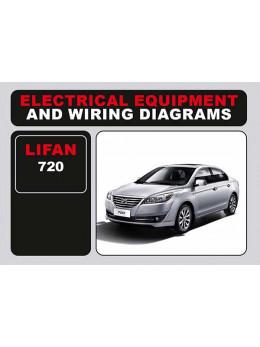 Lifan 720, электросхемы и электрооборудование в электронном виде (на английском языке)