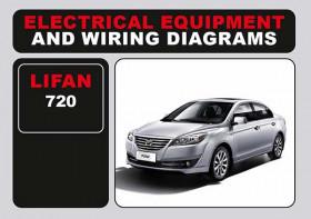 Электросхемы Lifan 720 в электронном виде (на английском языке)