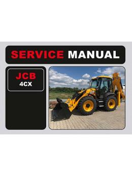 JCB 4CX, инструкция по эксплуатации в электронном виде (на английском языке)