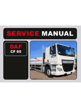 DAF CF 65, инструкция по эксплуатации в электронном виде (на английском языке)