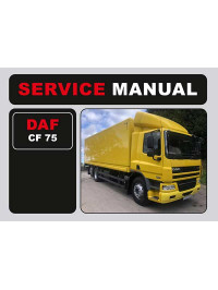 DAF CF 75, user e-manual