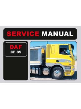 DAF CF 85, инструкция по эксплуатации в электронном виде (на английском языке)