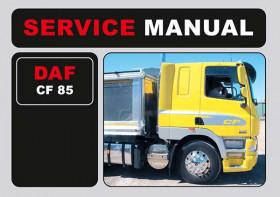 Руководство по эксплуатации и техобслуживанию DAF CF 85 в электронном виде (на английском языке)
