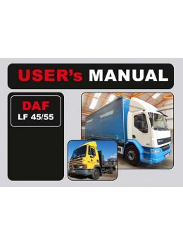 DAF LF 45 / LF 55, инструкция по эксплуатации в электронном виде (на английском языке)