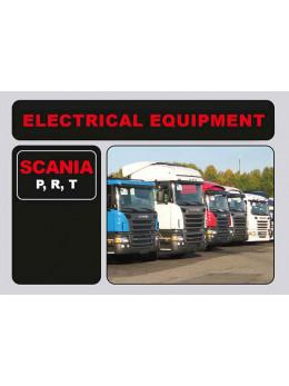 Scania P, R, T электрооборудование в электронном виде (на английском языке)