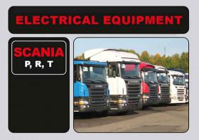 Электрооборудование Scania P, R, T в электронном виде (на английском языке)