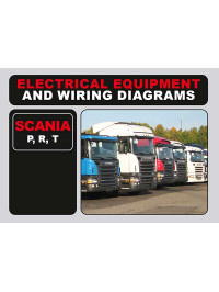 Scania P, R, T wiring diagrams and electrical equipment in English