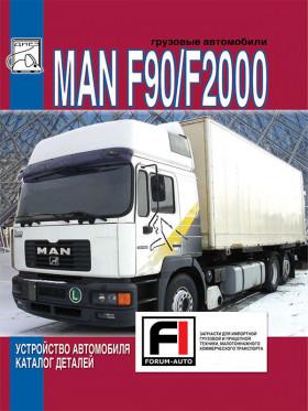 Руководство по устройству автомобиля и каталог деталей MAN F90 / F2000 c двигателями D2840 / D2866/76 в электронном виде