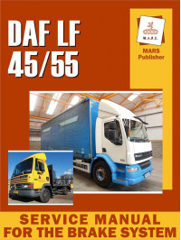 Service manual for the brake system DAF LF 45/55 in English