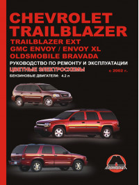 Chevrolet Trailblazer / Chevrolet Trailblazer EXT / GMC Envoy / GMC Envoy XL with 2002, book repair in eBook