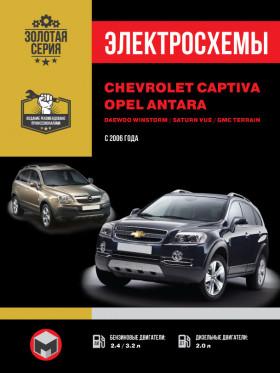 Chevrolet Captiva / Opel Antara / Daewoo Winstorm / Saturn Vue / GMC Terrain с 2006 года в электронном виде