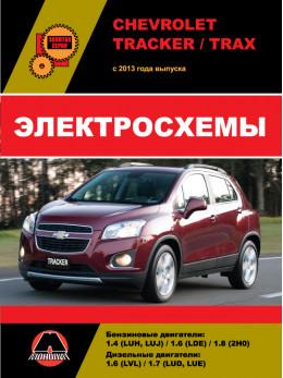 Chevrolet Tracker / Chevrolet Trax с 2013 года, электросхемы в электронном виде