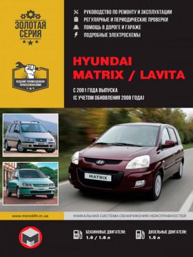 Руководство по ремонту Hyundai Matrix / Hyundai Lavita с 2001 года (с учетом обновления 2008 года) в электронном виде