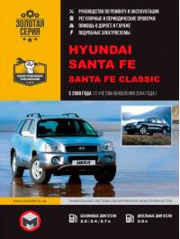 Hyundai Santa Fe / Santa Fe Classic с 2000 года (+обновления 2004 года), книга по ремонту в электронном виде