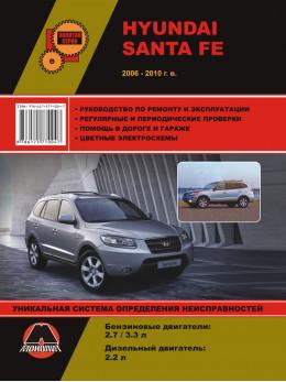 Hyundai Santa Fe с 2006 года, книга по ремонту в электронном виде