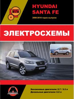 Hyundai Santa Fe с 2006 года, электросхемы в электронном виде