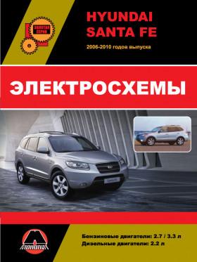 Электросхемы Hyundai Santa Fe с 2006 года в электронном виде