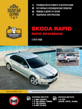 Руководство по ремонту Skoda Rapid / Rapid Spaceback с 2012 года в электронном виде