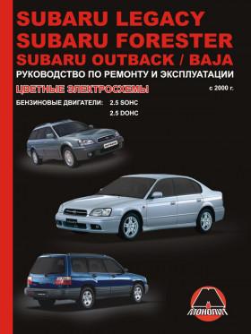 Руководство по ремонту Subaru Legacy / Subaru Forester / Subaru Outback / Subaru Baja с 2000 года в электронном виде