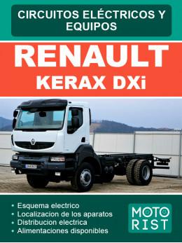 Renault Kerax DXi, электросхемы в электронном виде (на испанском языке)