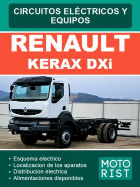 Электросхемы Renault Kerax DXi в электронном виде (на испанском языке)