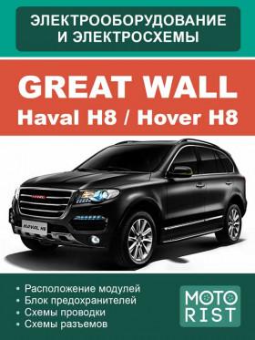 Электросхемы Great Wall Hover H8 / Haval H8 с 2015 года в электронном виде