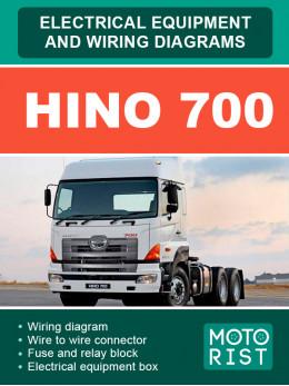 HINO 700, электросхемы в электронном виде (на английском языке)
