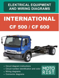 International CF 500 / CF 600 since 2007, wiring diagrams