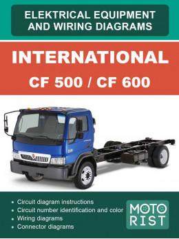 International CF 500 / CF 600 с 2007 года, электросхемы в электронном виде (на английском языке)