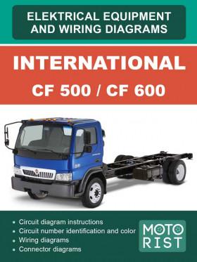 Электросхемы International CF 500 / CF 600 с 2007 года в электронном виде (на английском языке)