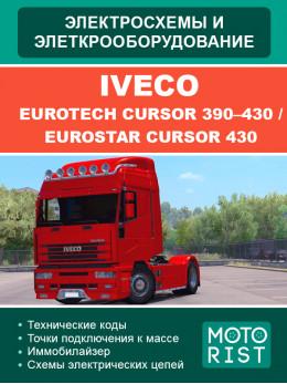 Iveco EuroTech CURSOR 390–430 / EuroStar CURSOR 430, электросхемы в электронном виде (на английском языке)