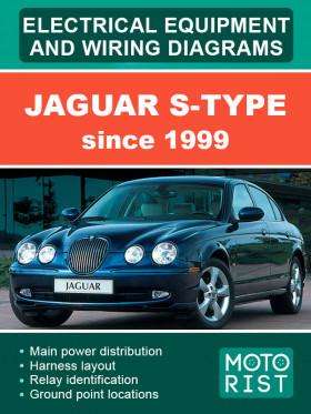 Электросхемы Jaguar S-Type c 1999 года в электронном виде (на английском языке)