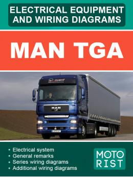 MAN TGA, электрооборудование и электросхемы в электронном виде (на английском языке)