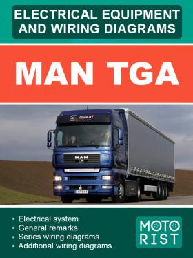 Электрооборудование и электросхемы MAN TGA в электронном виде (на английском языке)