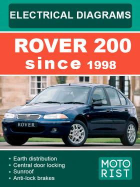 Электросхемы Rover 200 с 1998 года в электронном виде