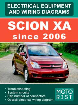 Scion xA с 2006 года электрооборудование и электросхемы в электронном виде (на английском языке)