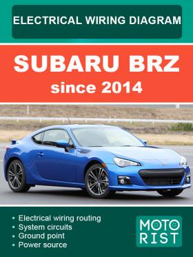 Электросхемы Subaru BRZ с 2014 года в электронном виде (на английском языке)