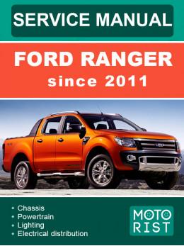 Ford Ranger с 2011 года, руководство по ремонту и эксплуатации в электронном виде (на английском языке)
