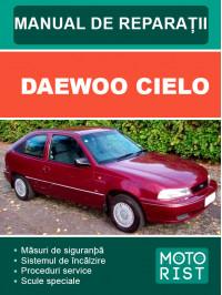 Daewoo Cielo, руководство по ремонту и эксплуатации в электронном виде (на румынском языке)