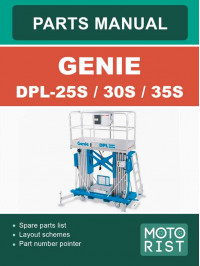 Genie DPL-25S / DPL-30S / DPL-35S Mast Lift Parts Catalog