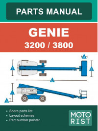 Genie S3200 / S3800 Telescopic Lift Parts Catalog