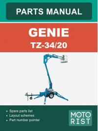 Genie TZ-30/20, parts catalog