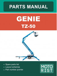 Genie TZ-50, parts catalog