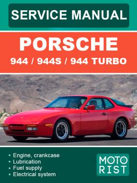Руководство по ремонту Porsche 944 в электронном виде (на английском языке)