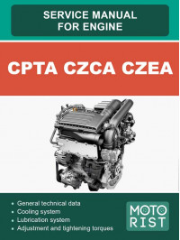 Engines CPTA, CZCA, CZEA (1.4L 4v EA211), service e-manual