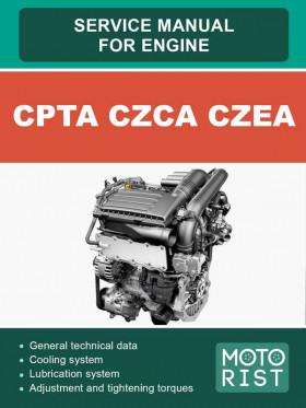 Руководство по ремонту бензиновых двигателей CPTA, CZCA, CZEA объемом 1.4 литра в электронном виде (на английском языке)