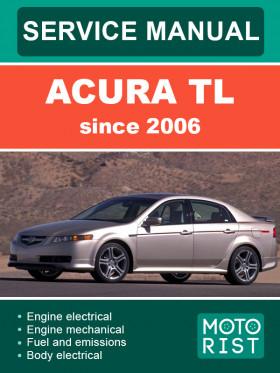 Руководство по ремонту Acura TL c 2004 года в электронном виде (на английском языке)