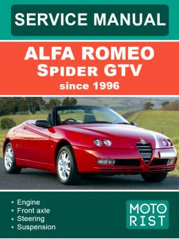 Alfa Romeo Spider GTV c 1996 года, руководство по ремонту и эксплуатации в электронном виде (на английском языке)