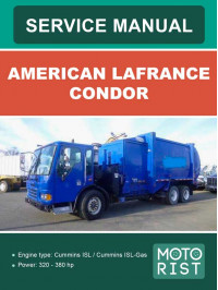 American LaFrance Condor, user e-manual
